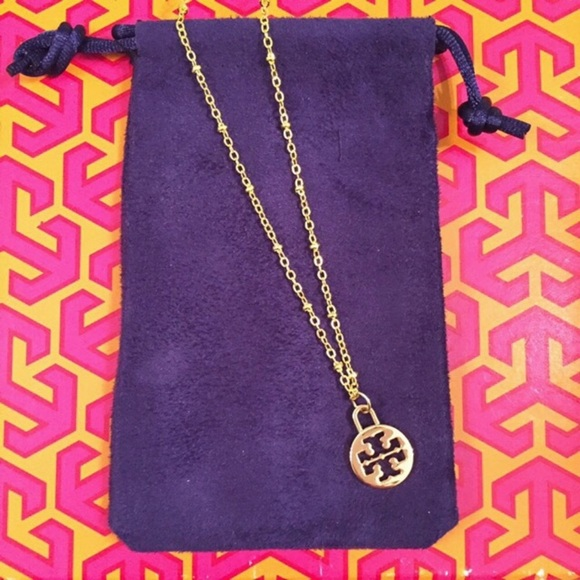 Tory Burch Jewelry - Tory Burch 14k gold plated necklace